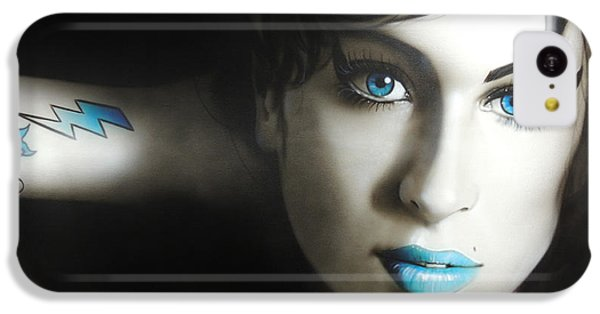 Amy Winehouse - 'amy 'n' Blues' IPhone 5c Case by Christian Chapman Art