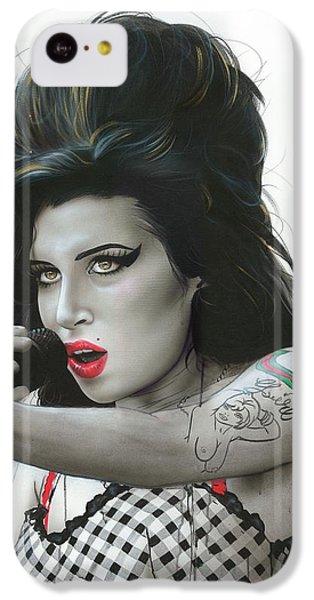 'amy Vi' IPhone 5c Case by Christian Chapman Art