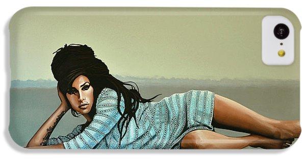 Amy Winehouse 2 IPhone 5c Case by Paul Meijering