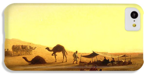 An Arab Encampment  IPhone 5c Case by Charles Theodore Frere