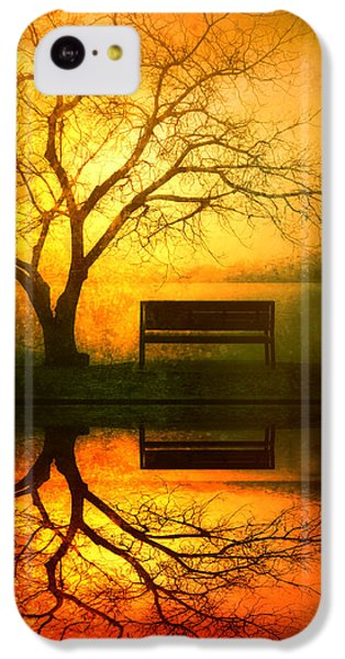 And I Will Wait For You Until The Sun Goes Down IPhone 5c Case by Tara Turner
