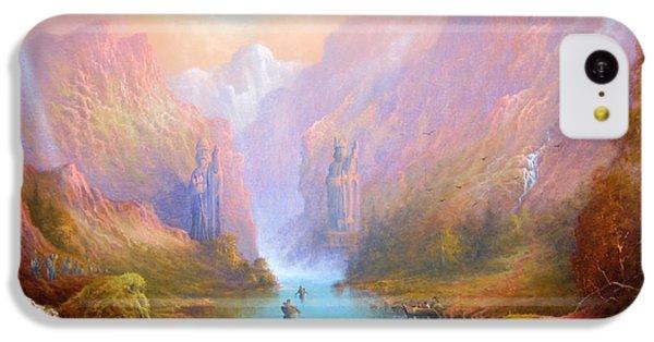 Anduin The Great River IPhone 5c Case by Joe  Gilronan