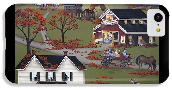 Annual Barn Dance And Hayride IPhone 5c Case by Catherine Holman