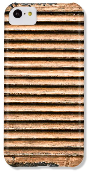 Antique Wooden Shutter IPhone 5c Case by Tom Gowanlock
