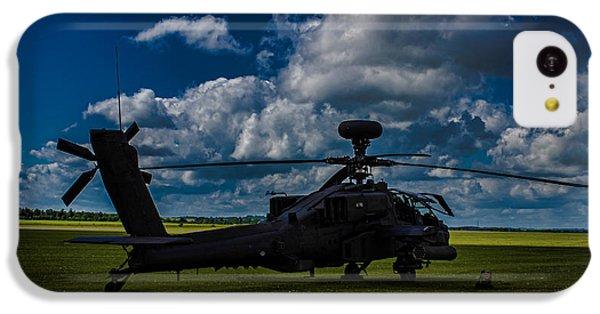 Apache Gun Ship IPhone 5c Case by Martin Newman