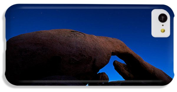 Arch Rock Starry Night IPhone 5c Case by Stephen Stookey