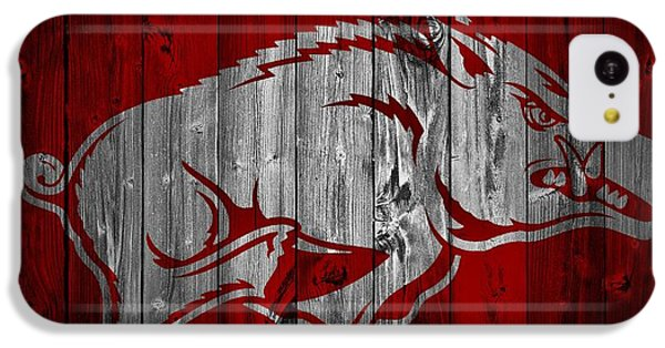 Arkansas Razorbacks Barn Door IPhone 5c Case by Dan Sproul