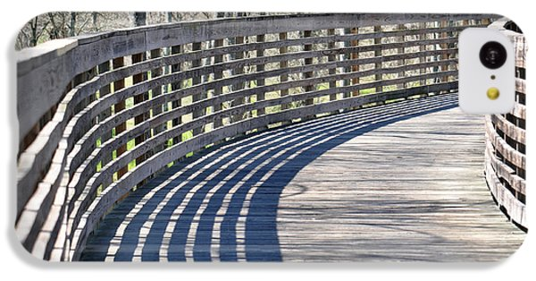 Around The Bend IPhone 5c Case by Teresa Blanton