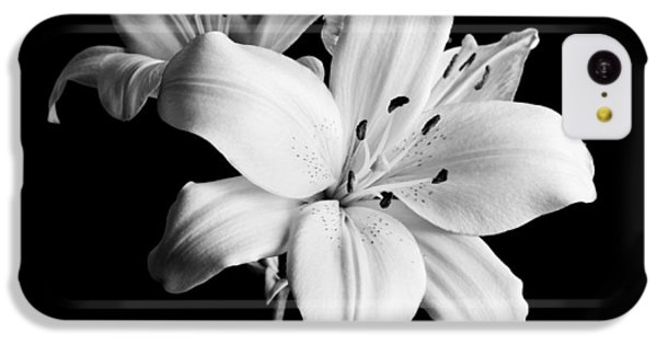 Asian Lilies 1 IPhone 5c Case by Sebastian Musial