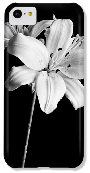 Asian Lilies 2 IPhone 5c Case by Sebastian Musial