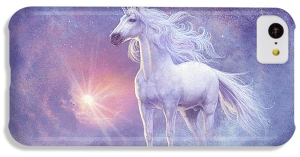 Astral Unicorn IPhone 5c Case by Steve Read