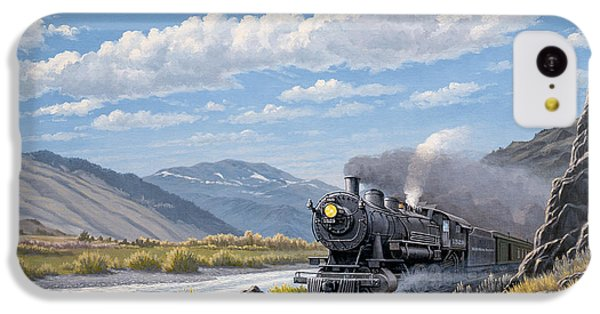 At Point Of Rocks- Bound For Livingston  IPhone 5c Case by Paul Krapf