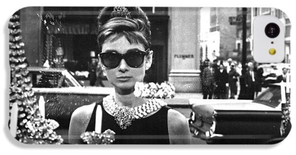 Audrey Hepburn Breakfast At Tiffany's IPhone 5c Case by Nomad Art