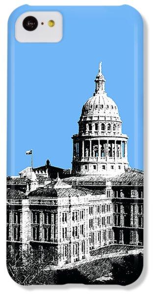 Austin Texas Capital - Sky Blue IPhone 5c Case by DB Artist
