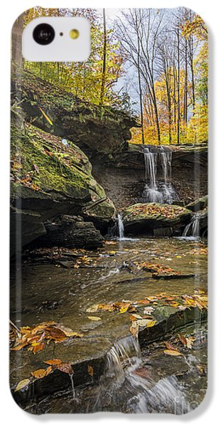 Autumn Flows IPhone 5c Case by James Dean