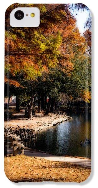Autumn On Theta IPhone 5c Case by Lana Trussell