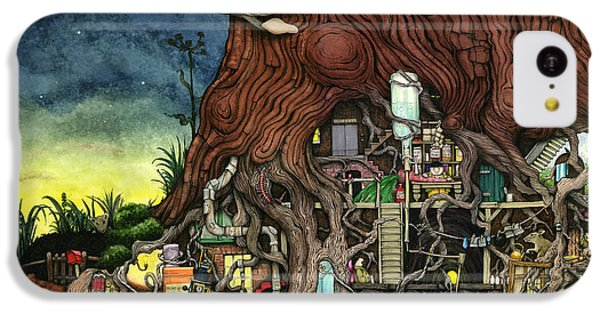 Back To Your Roots IPhone 5c Case by Colin Thompson