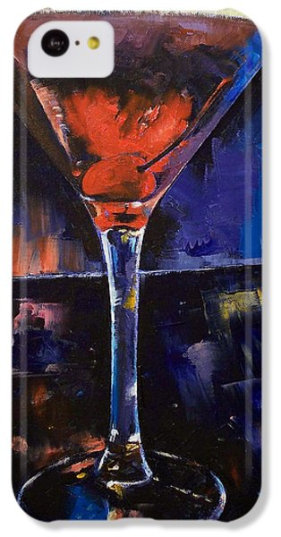 Backstage Martini IPhone 5c Case by Michael Creese