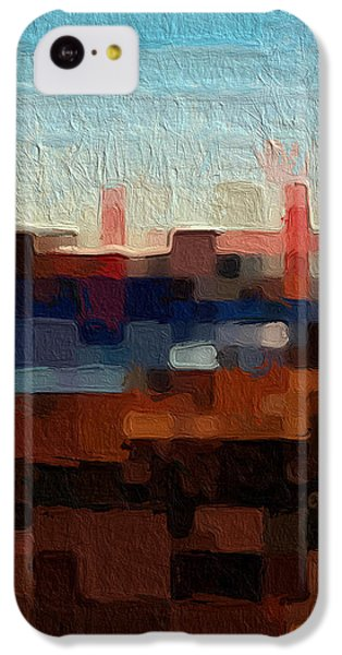 Baker Beach IPhone 5c Case by Linda Woods
