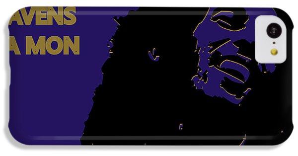 Baltimore Ravens Ya Mon IPhone 5c Case by Joe Hamilton