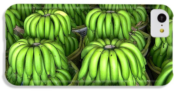 Banana Bunch Gathering IPhone 5c Case by Douglas Barnett