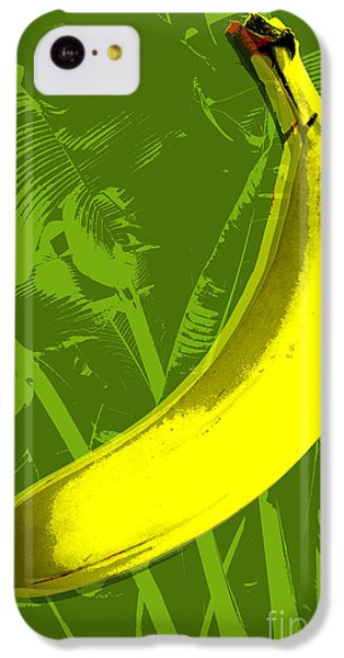 Banana Pop Art IPhone 5c Case by Jean luc Comperat