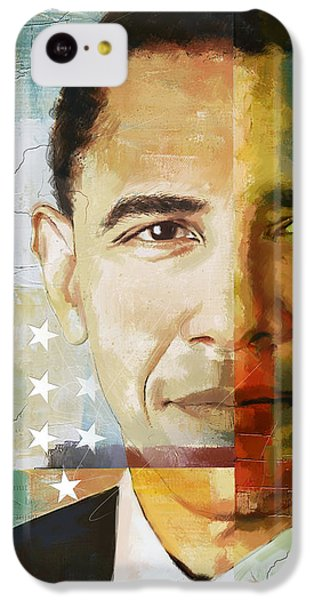 Barack Obama IPhone 5c Case by Corporate Art Task Force
