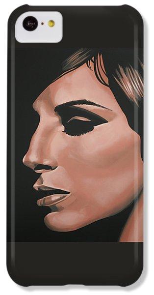 Barbra Streisand IPhone 5c Case by Paul Meijering