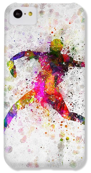 Baseball Player - Pitcher IPhone 5c Case by Aged Pixel