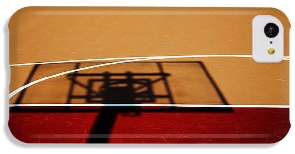 Basketball Shadows IPhone 5c Case by Karol Livote