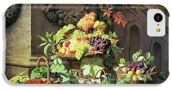 Baskets Of Summer Fruits IPhone 5c Case by William Hammer