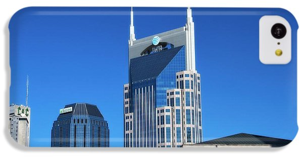 Batman Building And Nashville Skyline IPhone 5c Case by Dan Sproul