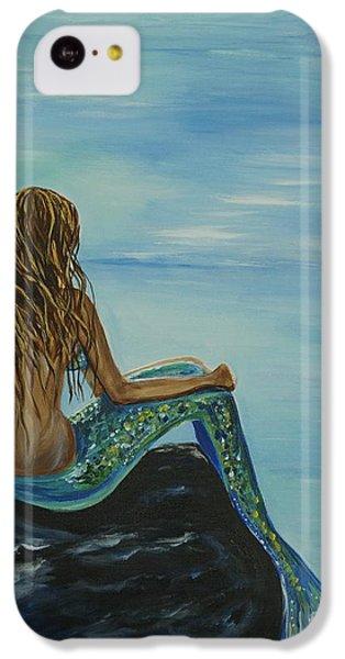 Beautiful Magic Mermaid IPhone 5c Case by Leslie Allen