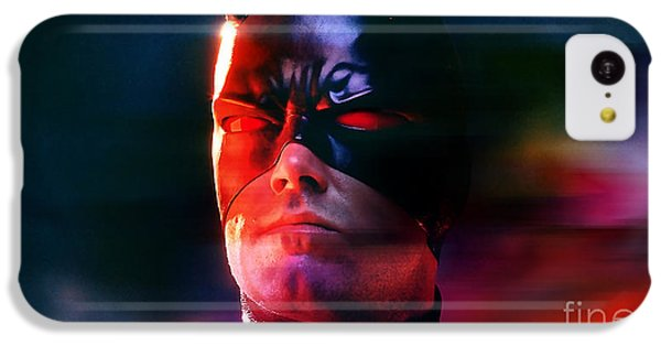 Ben Affleck Daredevil IPhone 5c Case by Marvin Blaine