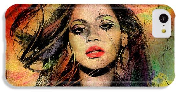 Beyonce IPhone 5c Case by Mark Ashkenazi