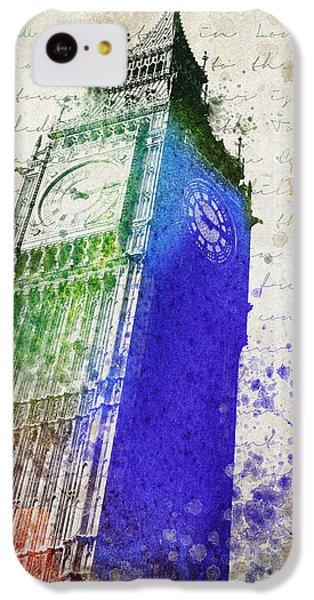 Big Ben IPhone 5c Case by Aged Pixel