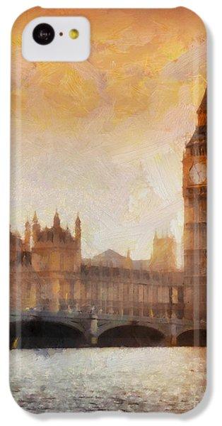 Big Ben At Dusk IPhone 5c Case by Pixel Chimp