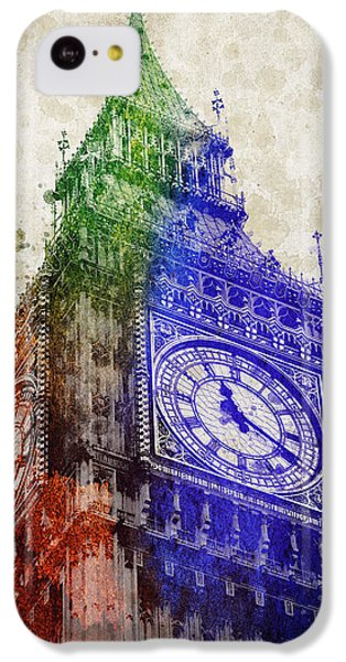 Big Ben London IPhone 5c Case by Aged Pixel
