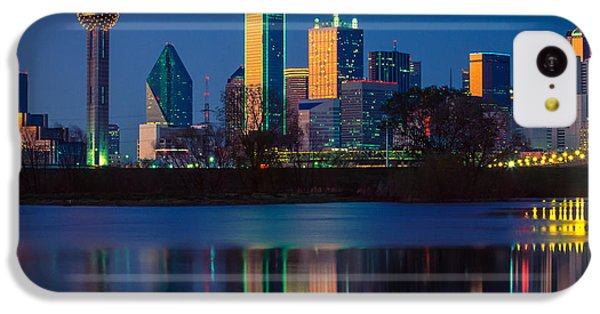 Big D Reflection IPhone 5c Case by Inge Johnsson