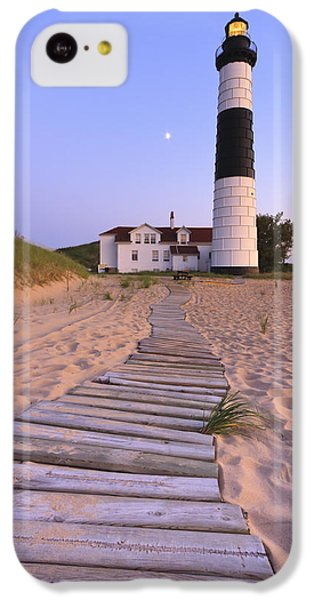 Big Sable Point Lighthouse IPhone 5c Case by Adam Romanowicz