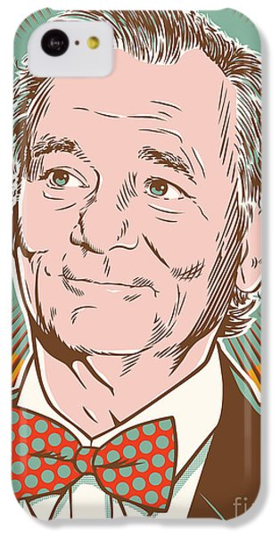 Bill Murray Pop Art IPhone 5c Case by Jim Zahniser