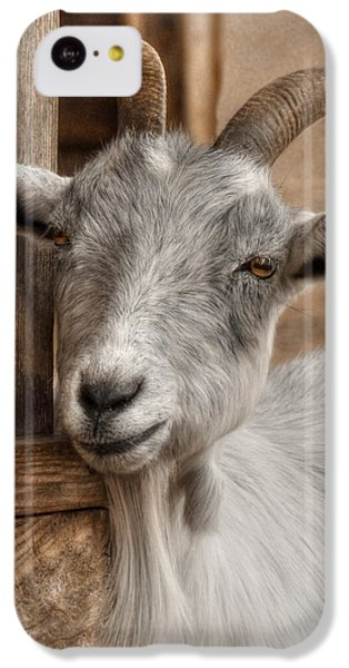 Billy Goat IPhone 5c Case by Lori Deiter