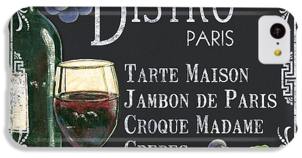 Bistro Paris IPhone 5c Case by Debbie DeWitt