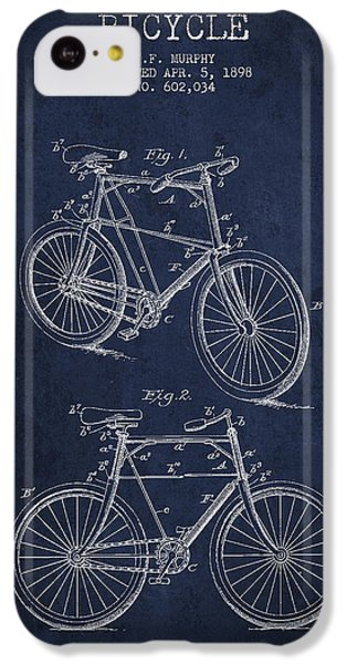 Bisycle Patent Drawing From 1898 IPhone 5c Case by Aged Pixel