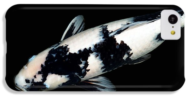 Black And White Koi IPhone 5c Case by Rebecca Cozart