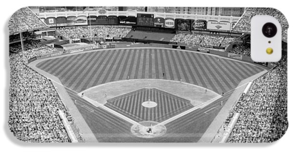 Black And White Yankee Stadium IPhone 5c Case by Horsch Gallery