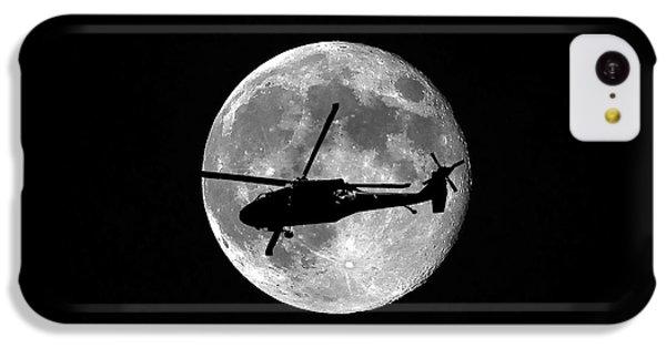 Black Hawk Moon IPhone 5c Case by Al Powell Photography USA
