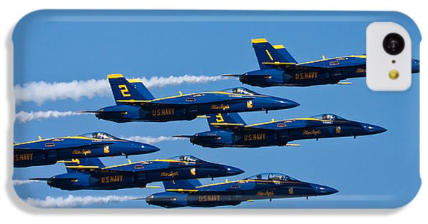 Blue Angels IPhone 5c Case by Adam Romanowicz
