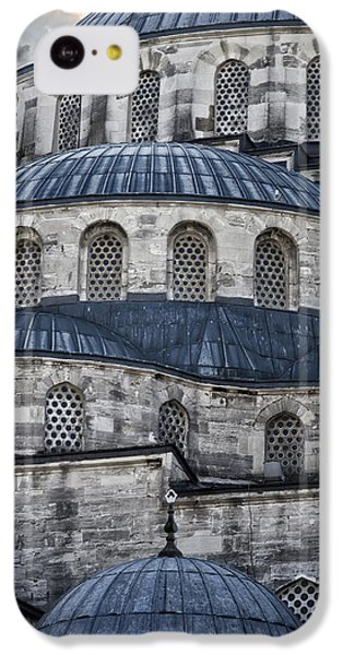 Blue Dawn Blue Mosque IPhone 5c Case by Joan Carroll