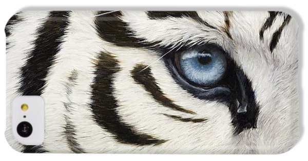 Blue Eye IPhone 5c Case by Lucie Bilodeau